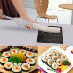 POAO DIY Sushi Maker - Ustensile pour Préparation de Sushi Roll pour les fans de cuisine japonaise & de cuisine facile - Le cadeau idéal de la marque POAO image 1 produit