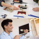 POAO DIY Sushi Maker - Ustensile pour Préparation de Sushi Roll pour les fans de cuisine japonaise & de cuisine facile - Le cadeau idéal de la marque POAO image 4 produit
