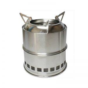Poêle à bois/alcool en acier inoxydable portable à l'extérieur léger de la marque Rongwen image 0 produit