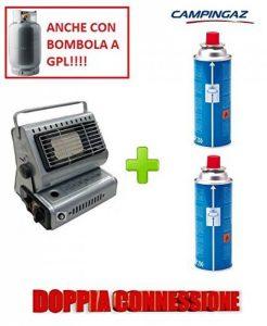 Poêle Campingaz chauffage à gaz Portable Double attaque gPL/Butane + 2cartouche originale en hommage de la marque ALTIGASI image 0 produit