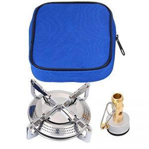Poêle Cuisinière à Gaz pour Pique-Nique Mini Réchaud de Camping Portable en Alliage de Titane - Le Carburant n'est pas inclus de la marque VGEBY image 0 produit