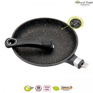 Poêle en pierre granité et céramique - tous feux dont induction - Natural Cook Professionnel (32 cm) de la marque Natural Cook Professionnel image 0 produit