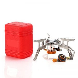 Poêle à gaz compact extérieur, mini four portable pliable, idéal pour le camping, la randonnée, la pêche de la marque Spotact image 0 produit
