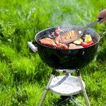POLIGO 20 pièces BBQ Grill outils Set, robuste en acier inoxydable barbecue gril ustensiles ensemble avec étui en aluminium, accessoires de grillade de qualité pour barbecue - cadeau d'anniversaire pour les hommes de la marque POLIGO image 3 produit