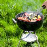 POLIGO 20 pièces BBQ Grill outils Set, robuste en acier inoxydable barbecue gril ustensiles ensemble avec étui en aluminium, accessoires de grillade de qualité pour barbecue - cadeau d'anniversaire pour les hommes de la marque POLIGO image 4 produit