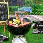 POLIGO 20 pièces BBQ Grill outils Set, robuste en acier inoxydable barbecue gril ustensiles ensemble avec étui en aluminium, accessoires de grillade de qualité pour barbecue - cadeau d'anniversaire pour les hommes de la marque POLIGO image 6 produit