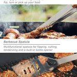 POLIGO 20pcs en acier inoxydable outils de barbecue Grill Set - ensemble complet d'ustensiles de barbecue en plein air, accessoires de barbecue robustes en étui de transport en aluminium - parfait cadeau pour les hommes de la marque POLIGO image 3 produit