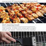 POLIGO 20pcs en acier inoxydable outils de barbecue Grill Set - ensemble complet d'ustensiles de barbecue en plein air, accessoires de barbecue robustes en étui de transport en aluminium - parfait cadeau pour les hommes de la marque POLIGO image 5 produit