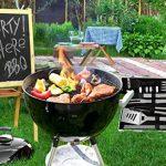 POLIGO 20pcs en acier inoxydable outils de barbecue Grill Set - ensemble complet d'ustensiles de barbecue en plein air, accessoires de barbecue robustes en étui de transport en aluminium - parfait cadeau pour les hommes de la marque POLIGO image 6 produit