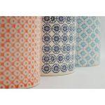 Pot à ustensiles de cuisine orné de motifs - en porcelaine - imprimé orange de la marque Nicola Spring image 3 produit