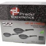 Pradel Excellence 52003M - Lot de 3 Poêles Façon Pierre Diamètre : 20/24/28 cm de la marque Pradel Excellence image 2 produit