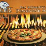 Premium Kit pierre à pizza de falkes pour four et grill. Peut également servir ou pain. Avec planche à pizza roulette à pizza et pierre à pizza Support. Des Pizzas à comme en Italie. de la marque falkes image 1 produit
