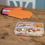Pret a Paquet Lunchbox PRÊT A PAQUET 1 L à compartiments séparés et housse néoprène,pour repas chaud ou froid à emporter de la marque Pret a Paquet image 2 produit