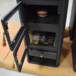 Prity FM Poêle à bois avec four de cuisson et brûleur à bûches 12kW de la marque Prity image 3 produit