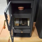 Prity FM Poêle à bois avec four de cuisson et brûleur à bûches 12kW de la marque Prity image 4 produit