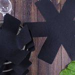 Protection casseroles et protège-poêle–Set 8Pièces–Longueur 38cm–Parfaits pour casseroles et poêles anti-adhésives en acier inoxydable, fonte, céramique de la marque NNDOLL image 3 produit