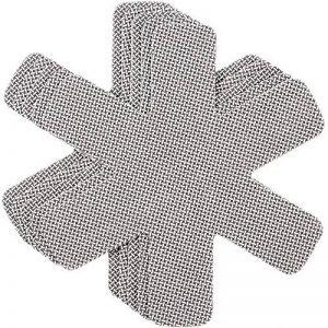 Protège poêles et séparateur de casseroles Cherafone - Lot de 5 - Parfaits pour éviter les rayures sur des poêles anti-adhésives, ainsi que sur des poêlons en acier inoxydable, en fonte ou en grès de la marque Chefarone image 0 produit