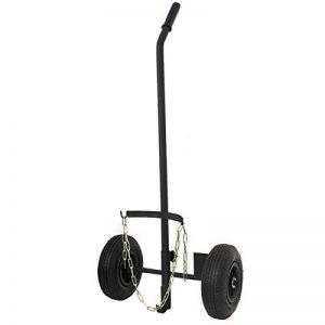 PROWELTEK Chariot roues gonflées pour bouteille de gaz 6/13 kg diamètre 220 mm tous terrains de la marque PROWELTEK image 0 produit