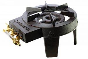 Proweltek - Rechaud Gaz 3 Robinets Fonte - 4 pieds de la marque Proweltek-Providus image 0 produit