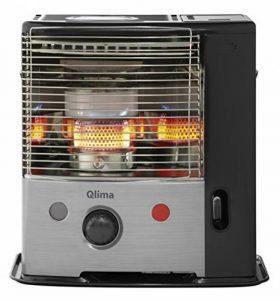 Qlima R8027C Poêle à pétrole mèche Noir Aluminium de la marque Qlima image 0 produit