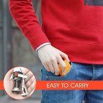 Réchaud de Camping, Aodoor Mini réchaud portable léger à gaz en métal Pour Camping Randonnée, Très puissant, de haute qualité, chromé de la marque Aodoor image 4 produit