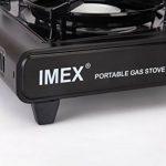 Réchaud à gaz transportable dans boîtier de transport Réchaud de camping sécurité après Nouveaux directives l'UE de la marque IMEX image 3 produit