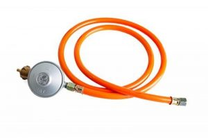 Réducteur de pression de gaz (Basse Pression Régulateur) avec tuyau de gaz 30mbar (Set) de la marque Paella World International image 0 produit