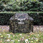'Ready To Grill® Camouflage universel pour grill 58–147x 61x 107cm–Accessoires de Barbecue Premium, imperméable, résistant aux UV,–Housse/Coque/bâche compatible par exemple Weber, etc de la marque Ready to Grill image 1 produit