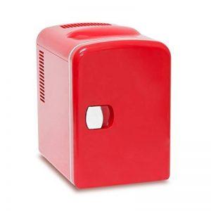 Relaxdays Mini Réfrigérateur env. 4L env. 28x 18x 25cm 12V Rouge de la marque Relaxdays image 0 produit