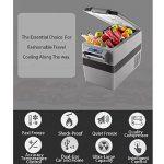 Réfrigérateur Portatif De Réfrigérateur De Réfrigérateur De Compresseur Portatif De Réfrigérateur De Voiture Pour La Voiture Et La Maison de la marque MRSLIU image 3 produit
