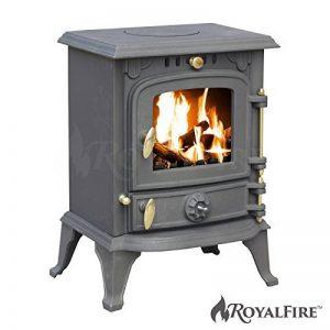 Royal FireTM Poêle en fonte pour poêle à bois et charbon de la marque Royal FireTM image 0 produit