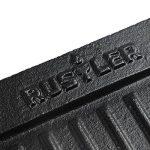 Rustler - Plaque de cuisson / Grill / Plancha en Fonte émaillée avec 2 Poignées - 37,5 x 23 cm - Parfait pour Grill, Barbecue, Feu de camp, Grillades au Gaz et au Charbon de Bois, Four et Cuisinière de la marque Rustler image 2 produit