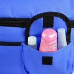 Sac Fraicheur Isotherme Impermeable Sac à Déjeuner en Tissu Oxford Lunchbox Refrigere pour Picnic/Voyage/Camping /Repas /Sport /Ecole /Travail /Déjeuner Sac à Main Unisexe Couleur- Bleu Foncé de la marque BXT image 3 produit