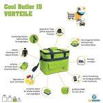 Sac glacière Cool Butler 15 d'Outdoorer – vert, volume 15 litres, avec poche extérieure de la marque Outdoorer image 1 produit
