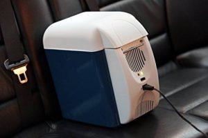 Sac isotherme électrique réfrigérateur 7,5L, portable, mini frigo de voyage pour voiture, chaud-froid, avec bandoulière de la marque LGVSHOPPING image 0 produit