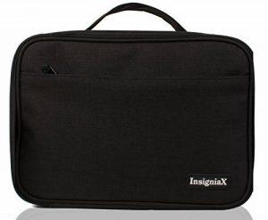 Sac Isotherme Repas Enfant S1: InsigniaX Thermos Lunch/Dejeuner Bag/Box Pour Les Hommes Femme Fille Garcon Bebe Travail Avec Tupperware Taille 25,4 x 13 x 23,3 cm (Grand, Noir) de la marque InsigniaX image 0 produit