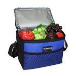 Sac Repas Lunch Bag Sac à Déjeuner Sac Fraîcheur Portable Isotherme Bleu 5L de la marque TEAMOOK image 4 produit