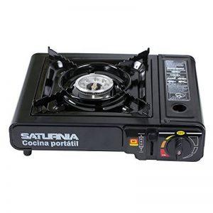 Saturnia 08140120Cuisinière à gaz portable, noir de la marque Saturnia image 0 produit