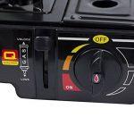 Saturnia 08140120Cuisinière à gaz portable, noir de la marque Saturnia image 2 produit
