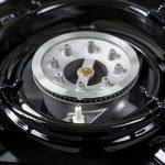 Saturnia 08140120Cuisinière à gaz portable, noir de la marque Saturnia image 3 produit