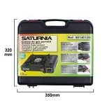 Saturnia 08140120Cuisinière à gaz portable, noir de la marque Saturnia image 4 produit