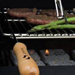 Sauvic 02724 Grille de Barbecue Universelle Acier 60/70 x 40 cm - Largeur extensible de 62 à 72 cm de la marque Sauvic image 2 produit