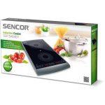 Sencor SCP 5404GY Plaque de cuisson à induction double zone - 2900W - diamètres de 145 et 167 mm - Contrôle de la température entre 60 et 240°C par étape de 20°C de la marque SENCOR image 1 produit