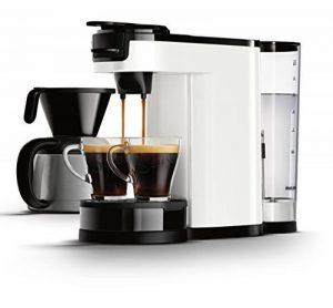Senseo HD7892/00Switch 2en 1Machine à Café pour filtre, blanc Machine à café Weiß de la marque Philips image 0 produit