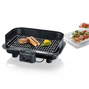 Severin 2791 - Barbecue de table XXL - 2500 W - pare-vent amovible - thermostat - noir de la marque Severin image 0 produit