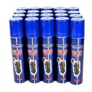 SILVER MATCH - Lot de 12 bouteilles recharges de gaz de 250 ml de la marque Silvermatch image 0 produit