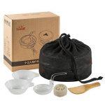 Skysper Camping casseroles kit extérieur portable Ensemble de cuisson en aluminium pour camping randonnée BBQ pique-nique (1–2personnes) de la marque Skysper image 6 produit