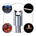 SMAGREHO USB Arc Briquet à flamme et rechargeable, 360° flexibeles à briquet pour bougies de cuisine, barbecue, noir de la marque SMAGREHO image 3 produit