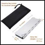 SOLEADER Haut Pare-vent de Camping Compact Portable Pliable Ultra-légers 10 Plaques Accessoires pour Réchaud à Gaz de Camping de la marque SOLEADER image 3 produit