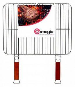 Somagic SO450310 Grille Double Acier Chrome 51 x 38 cm de la marque Somagic image 0 produit